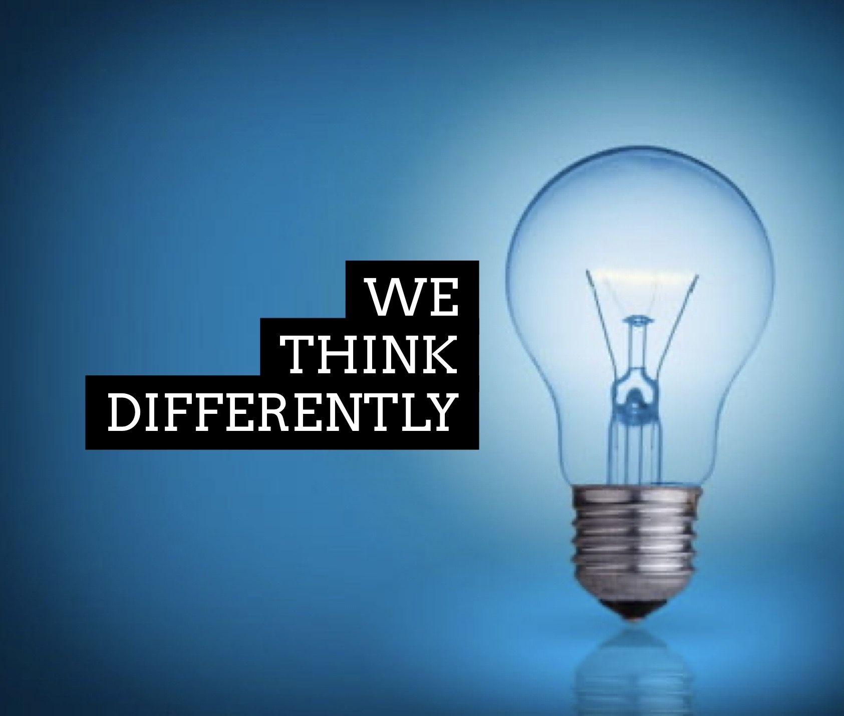 We Think Differently